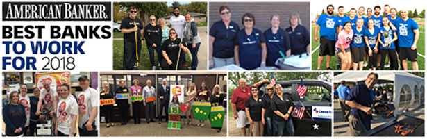 Choice Financial Named one of the Best Banks to Work for in