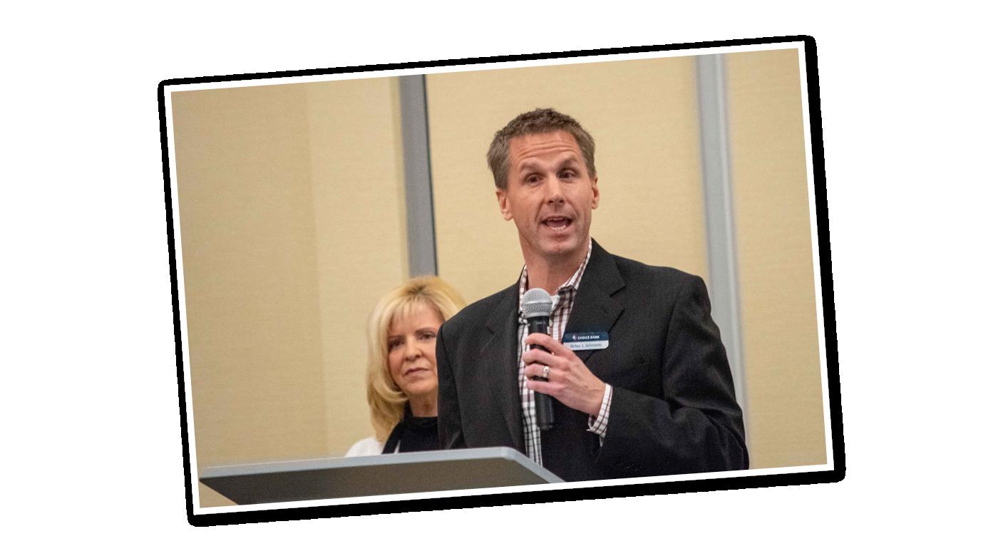 Brian L Johnson speaks at National Philanthropy Day
