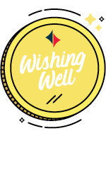 Wishing well coin