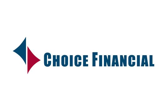 Choice Financial logo.
